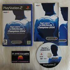 Jeu Roger Lemerre 2004 pour Playstation 2 PS2 Complet CIB PAL - Floto Games