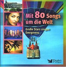 Mit 80 Songs um die Welt Reader's Digest  4 CD Box