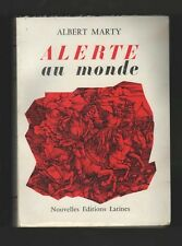 █ ALERTE AU MONDE 1969 Albert MARTY éditions Latines █