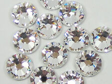 500 Gross SS10 3mm Crystal Clear Flat-Back Hot Fix Iron On Rhinestone Beads USA