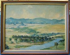 Original Australian Oil Painting by John McVeigh Brown (1938-)