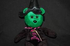 "Im Melting Witch Green Black Purple Celebrity Bears Plush 12"" Toy Lovey"