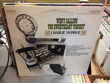 Charlie Monroe Who's Calling You Sweetheart Tonight vinyl LP 1969 STEREO