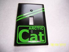 1- Arctic Cat Standard Light Switch Plate Cover (NEW) Vintage Looking