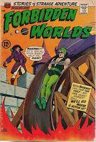 FORBIDDEN WORLDS #135 (1966) ACG Comics MAGICMAN VG+