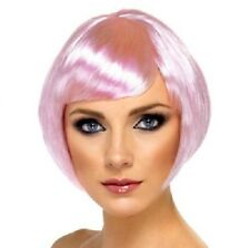 Disfraz Mujer Bob Peluca Nena Rosa Despedida De Soltera Nuevo #42053 por Smiffys