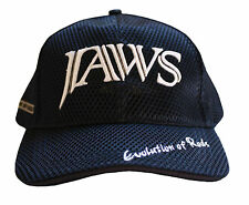 Jaws 3D Embroidery premium type fishing hat / cap Blue