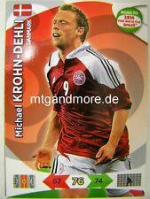 Adrenalyn XL - Michael Krohn-Dehli - Dänemark Road to 2014 FIFA World Cup Brazil