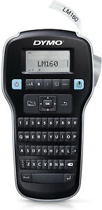 Dymo Label Manager 160 Handheld Printer Portable Maker Machine Qwerty Keyboard