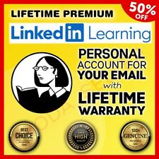 Lynda Lifetime Premium Acc 2020 Unlimited - LinkedIn Learning