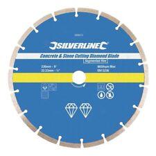 Disque diamant à segments pour meuleuse 230 mm pour béton Pierre Brique