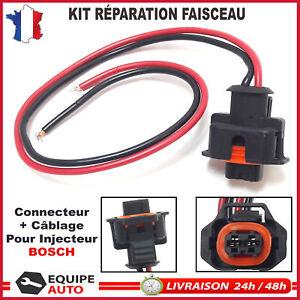 réparation connecteur Common-Rail Buse d'injection Citroen Fiat Peugeot Renault