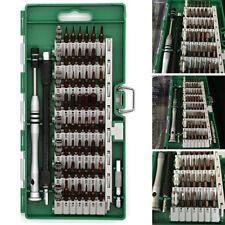 60 in 1 S2 Steel Precision Screwdriver Nutdriver Bit Repair Tools Kit Sets US
