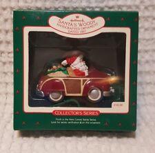 Vintage Hallmark Ornament - Santas Woody - #9 in Here Comes Santa - 1987