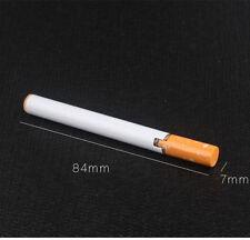Novelty Windproof Flame Cigarette Shaped Refillable Butane Gas Cigar Lighter DH