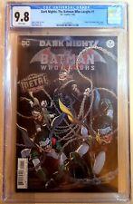 Dark Nights: The Batman Who Laughs #1 CGC 9.8 FOIL COVER - ORIGIN NM Key Auction