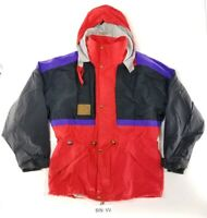 Vintage Mens Eider Gore-Tex Alpha Elan Snowboard Ski Jacket Shell Size 52 :VV