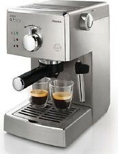 Philips / Saeco Poemia Manual Espresso Coffee Machine - SS - HD8327/47