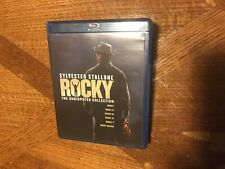 New listing Rocky: Sylvester Stallone, The Undisputed Collection Blu-ray, 7-Disc Box Set