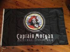 captain Morgan rum banner sign flag print Mancave wall hanging JD JB bundy rum