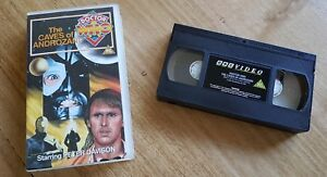 Doctor Who The Caves of Androzani VHS PAL