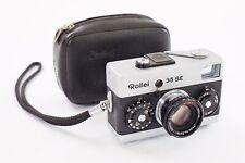 Vintage Rollei 35 se Sonnar f:2.8 40mm cámara de cine condición Original caso a 1+ +