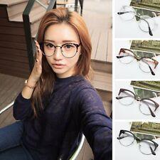 Retro Style Men Women Nerd Glasses Clear Lens Eyewear Metal Frame Facial