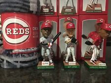 Cincinnati REDS 2013 Bobblehead LOT - Chapman, Phillips, Latos + LUXURY Blanket
