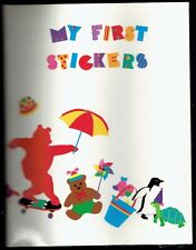 RARE Vintage 1992 Mrs. Grossman's My First Stickers Book Animal Candy Heart Toys