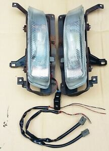 92-93 Honda Accord Factory Accessory Stanley Fog Lights & Switch OEM JDM Rare!!