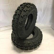 Rush Pro 1F OE Front ATV MX Tires 21x7x10 21x7-10 21-7-10 6 Ply x2 New Pair