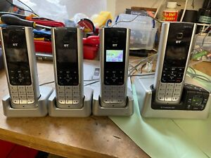 BT Freestyle 350 Telephone System with Answering Machine - 4 Handsets