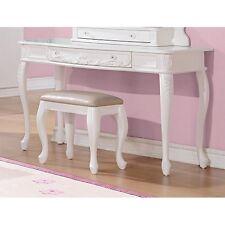 Coaster 400726 Vanity Desk White Painted New