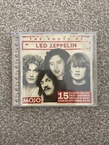MOJO THE ROOTS OF LED ZEPPELIN Promo Cd Album
