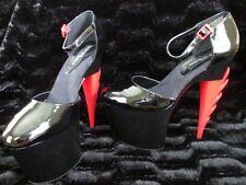 Highest Heel Collection Women's Inferno-31 Platform Stiletto Spike Heels Size 11