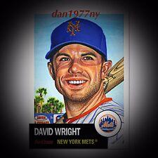2018 Topps Living Set Card #87-David Wright. Free Shipping &*Price Guaranteed