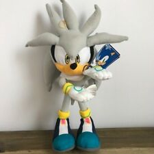 "Sonic the Hedgehog Series Character Silver the Hedgehog 13"" Plush U.S. SELLER"