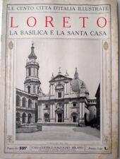 cento città d'Italia Illustrate 1920 LORETO La Basilica e la Santa Casa