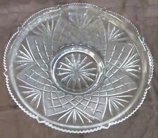 "Replacement Epergne Glass Bowl. Round, 13.50"" Diameter"