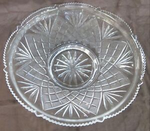 """Replacement Epergne Glass Bowl. Round, 13.50"""" Diameter"""