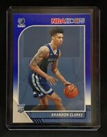 Brandon Clarke 2019-20 Panini NBA Hoops BLUE PARALLEL Rookie #217 GRIZZLIES C12