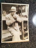 Original Photo 7x 9 1935 Tris Speaker Cleveland Indians