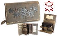Damen Börse Geldbörse Portemonnaie Geldbeutel Gross Leder Brieftasche Geschenk