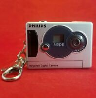 Philips Simply Snap & Share Keychain Digital Camera webcam videos pics