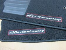 2009 Nissan 370Z 40th Anniversary  Floor mat set Genuine Nissan (40-J370Z101 )