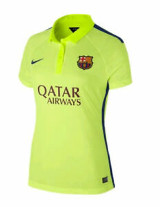 2014/15 NIKE FC Barcelona Stadium Third Soccer Jersey Women's Medium 631209-710