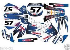 NG racing YAMAHA YZ125 YZ 125 YZ250 250 Motocross Graphic Kit 1996 - 2001