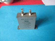 VINTAGE TCC VISCONOL 1uF 400V CAPACITOR. TESTED GOOD.
