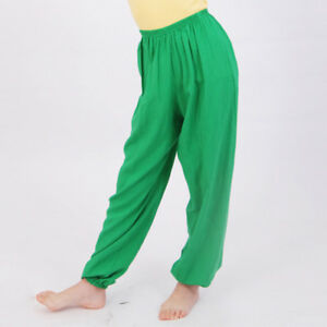 Boys Girls Unisex Harem Pants Loose Joggers Sweatpants Bottoms Casual Trousers