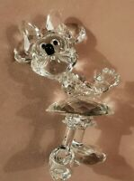 Swarovski Disney, Clear Minnie Mouse, Retired Figurine